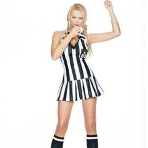 Leg Avenue Sexy Adult Women's Referee Costume New
